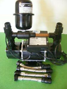 A Stuart Turner 1.8 Bar Negative  Twin Pump