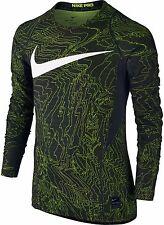 Nike Nwt Boys' Pro Warm Long Sleeve Shirt, Boy's Size S