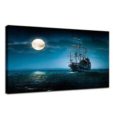 Pirate Ship Canvas Picture Wall Art HD Print Painting Fashion Hanging Pictures