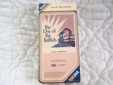 DAY OF THE TRIFFIDS VHS MEDA VIDEO 1ST RELEASE BRITISH HORROR SCI-FI HOWARD KEEL