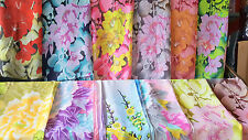 Joblot 24 pcs Birds & Flower design chiffon scarf wholesale 50x160 cm Lot 59