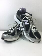 Woman's New Balance 496 Black Purple Mesh Athletic Walking Tennis Shoes Sz.9.5