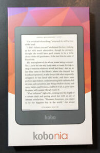 Kobo Nia eReader [ Black / 6 inch / E Ink Carta / Wi-Fi ] NEW
