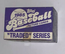 1985 Topps Traded Series Baseball Factory Set Factory Sealed 132 Card