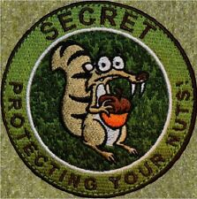 ZHTGEAR: SECRET SQUIRREL MULTICAM PATCH W/VELCRO® ~PROTECTING YOUR NUTS!