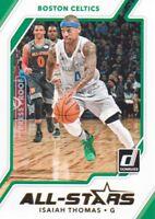 2017-18 Donruss All-Stars Press Proof #18 Isaiah Thomas Boston Celtics