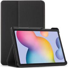 Samsung Galaxy Tab S6 Lite Case, Cover, Stand, Smart Auto Sleep Wake - Black
