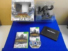 xbox 360 LORD OF THE RINGS War In The North Collectors Edition + Figure LOTR PAL