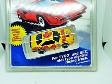TYCO KODAK MONTE CARLO Stocker Yellow #4~MOC~Aurora Model Motoring AFX
