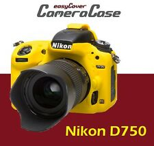Protective Yellow Silicone Armor for Nikon D750 by easyCover camera case
