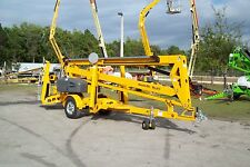 Haulotte 5533a 61 Work Height Towable Boom Lift 33 Outreachall New 2021s