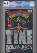 Wonder Woman V2 #8 CGC 9.6 1987  George Perez  DC Comic:  New Frame