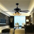 AH11-GB European 42 Inches 3 Lights D106 CM Rope Control Ceiling Fans Light