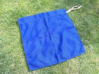 """British Army Blue convoy flag size 18""""x18"""" LAND ROVER Military Vehicle Exercise"""