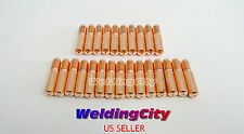 "25-pk MIG Welding Gun Contact Tip 087-299 .023"" for Miller Millermatic Hobart H"