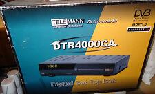 TELEMANN DTR4000CA DVB Satellite Receiver