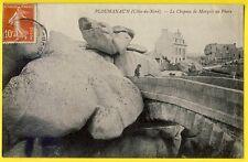 cpa Bretagne 22 PLOUMANAC'H (Côtes d'Armor) Le CHAPEAU de MARQUIS Pierre Rocher
