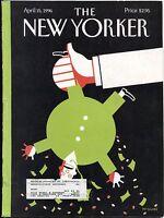 New Yorker Magazine Apr April 15 1996 Richard McGuire Rebecca West John Updike