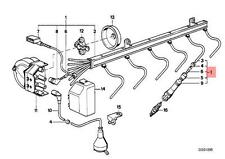 Genuine BMW E38 Sedan Ignition Spark Plug Wire 1pcs OEM 12121742888