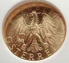 1926 AUSTRIA Old 25 Schilling GOLD Austrian COIN w Eagle NGC Certified MS i71701