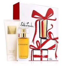 Estee Lauder CINNABAR Eau de Parfum Perfume Body Lotion 3.4oz TWO Piece Set NIB