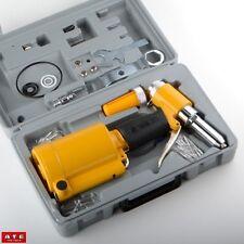 Air Power Driven Hydraulic Pop Rivet Riveting Gun Tool Squeezer Riveter Kit