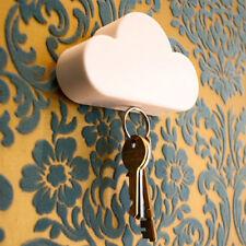 Novelty Home Storage Key Holder White Cloud Shape Magnetic Magnets Hold New