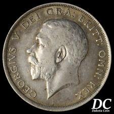 Great Britain 1916 Half Crown ~ KM#818.1
