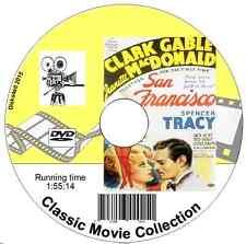 San Francisco - Clark Gable, Jeanette MacDonald, Spencer Tracy Musical 1936 DVD