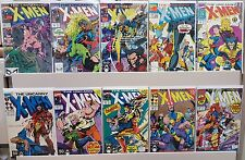 The Uncanny X-Men #263, 269, 272, 273, 275, 276, 278, 279, 280, 281 - CGC READY