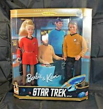 1996 Mattel Barbie and Ken Star Trek 30th Anniversary Gift Set