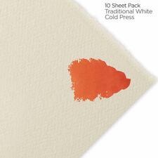 """Fabriano Artistico Watercolor Paper 140 lb. Cold Press 10-Pack 22 x 30"""" White"""