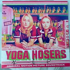 "VARIOUS ARTISTS 10""EP YOGA HOSERS ORIGINAL SOUNDTRACK 2016 USA EX/EX PINK VINYL"