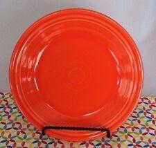 Fiestaware Poppy Dinner Plate Fiesta Orange 10.5 inch Plate