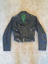 Harley Cycle Queen Horsehide Leather Jacket