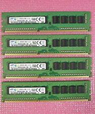 8GB DDR3 PC EDIMM 1600Mhz PC3L-12800E ECC RAM - Samsung JOB LOT of 32GB (4x8GB)