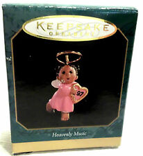 HALLMARK KEEPSAKE ORNAMENT MINIATURE HEAVENLY MUSIC 1997 MINT-NEW-ND