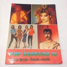 "ABBA Bjorn Benny Agnetha Anni-Frid Vintage Danish Booklet 1981 ""Pop Årbogen 81"""