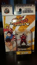 Nano Metalfigs Street Fighter M. BISON SF12 - New