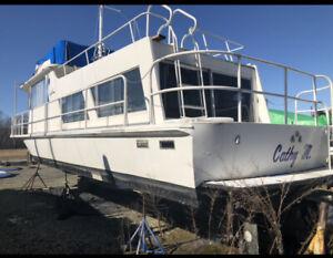 1975 Kingscraft 40' Aluminum Houseboat - Maryland