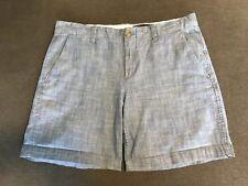 Women's Gap Blue Chambray Denim Shorts Size 6