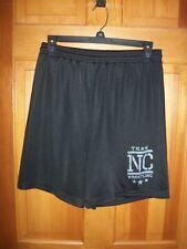Men's Badger Athletic Shorts Size Small Black Mesh Nc Wrestling Team