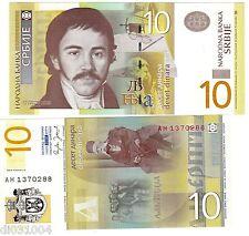 Serbie SERBIA Billet 10 DINARA NOUVEAU 2006 NEUF UNC