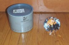 """SWAROVSKI CRYSTAL ~ LARGE CHATON PAPERWEIGHT ~ 2"""" Tall 3 1/8"""" wide ~ NEW in Box"""