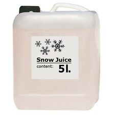 American DJ Snow Fluid Liquid 5L Disco Party Long Lasting Quality Machine Juice