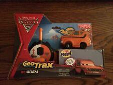 GeoTrax RC Grem Turbo RC Disney Pixar Cars 2 Series New in Box!