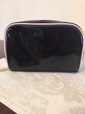Yves Saint Laurent Ysl Beaute Beauty patent black cosmetic Bag Makeup Case