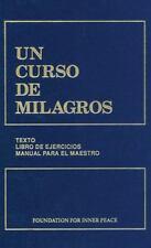 Un curso de Milagros : Edicion en un solo volumen I, II, III (2007, Hardcover)
