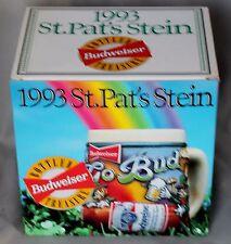 1993 Anheuser-Busch Budweiser St Patrick's Day Stein Ceramarte Brazil CS193