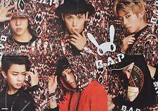 B.A.P - A2 Poster (XL - 42 x 55 cm) - Band K-Pop Clippings Fan Sammlung NEU